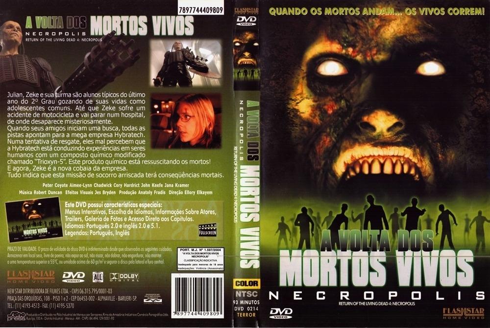 Dvd A Volta Dos Mortos Vivos Necropolis 2005 R 19 95 Em