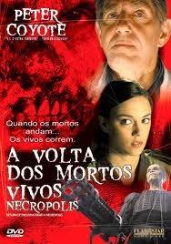 dvd - a volta dos mortos vivos necropolis