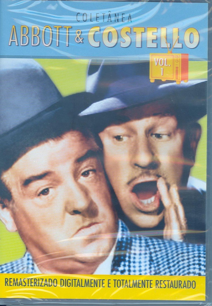 Dvd Abbott Costello Volume 1 Lacrado Carregando Zoom