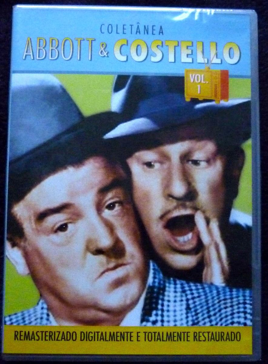 Dvd Abbott E Costello Vol 1 Carregando Zoom