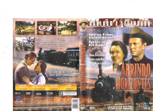 dvd abrindo horizontes, sterling hayden - western - original