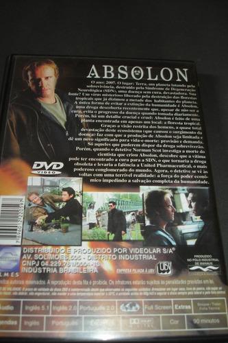 dvd - absolon - christopher lambert