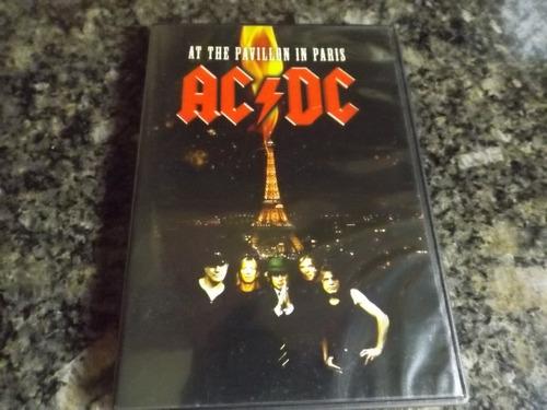 dvd ac/dc live at the pavillion