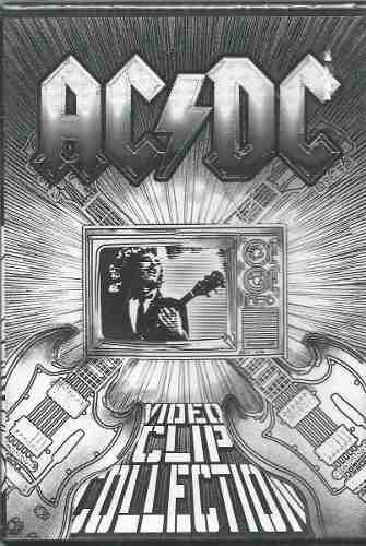 dvd ac/dc - video clipe collection