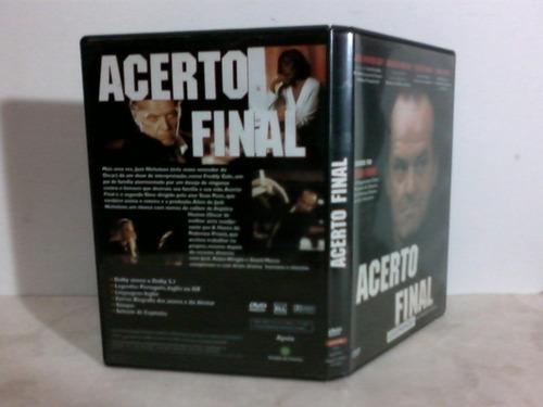 dvd -acerto final - j. nicholson, sean penn (legendado)