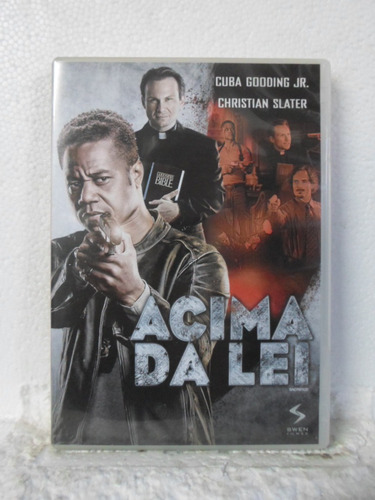 dvd acima da lei - original