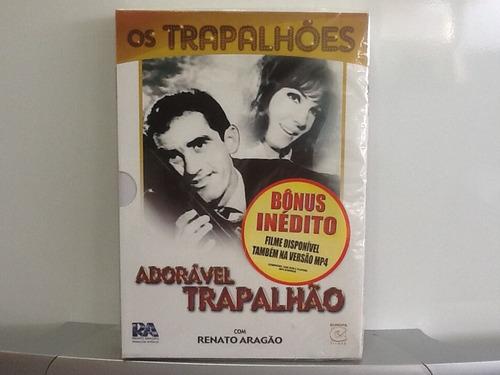 dvd adorável trapalhão - com luva - lacrado de fábrica