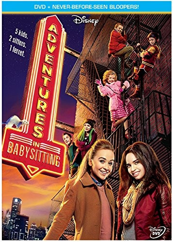 dvd : adventures in babysitting (dolby, widescreen, ,...