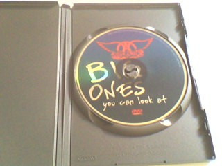 dvd aerosmith - big ones