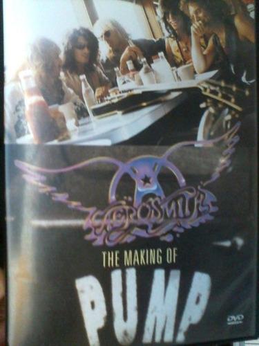 dvd aerosmith the making of pump semi usado bastidores 1994