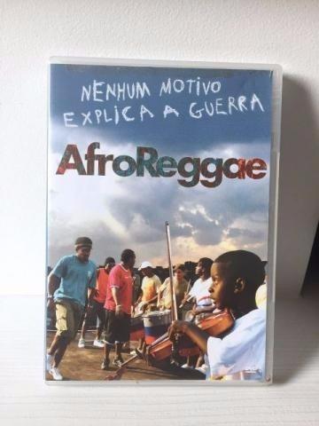 dvd afroreggae - nenhum motivo explica a guerra