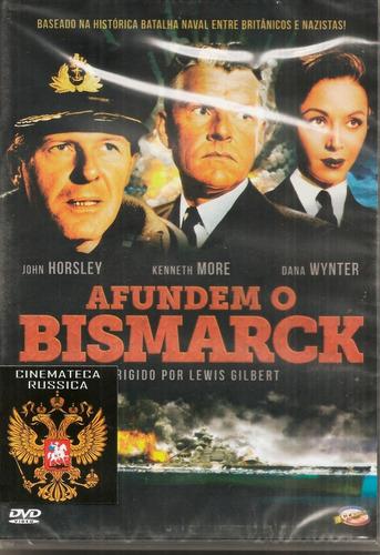 dvd afundem o bismarck, dana wynter kenneth more 1960 pb +