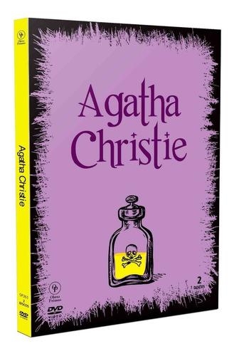 dvd agatha christie 4 filmes - digipak - opc - bonellihq l19