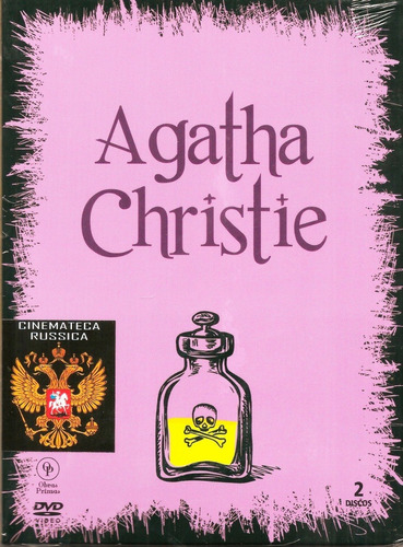 dvd agatha christie vol. 1 digipack 2 dvds 4 filmes +