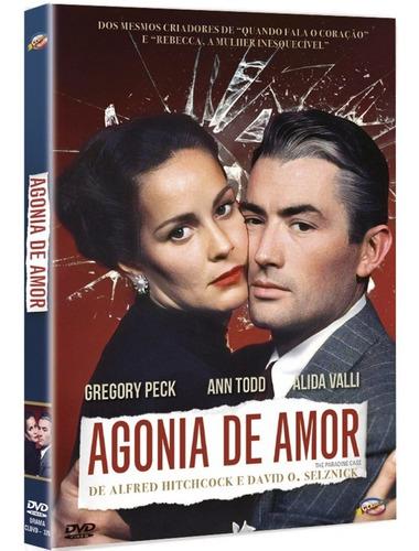 dvd agonia de amor - classicline - bonellihq l19