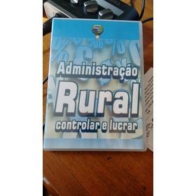 Dvd Agronegócio Administração Rural Controlar E Lucrar