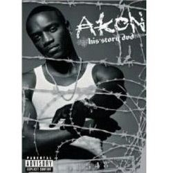 dvd akon - his story  [made in usa]
