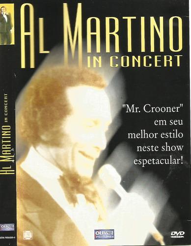 dvd - al martino - in concert - lacrado