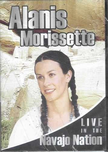dvd - alanis morissette - live in the navajo nation- lacrado