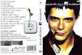 dvd alejandro sanz - mtv unplugged