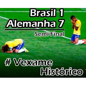 Dvd Alemanha 7 X 1 Brasil - O Maior Vexame De Todos Os Tempo