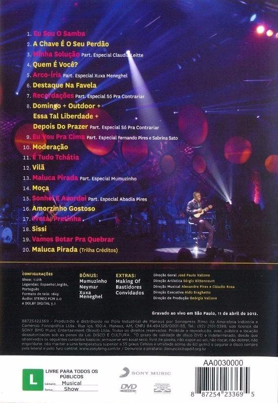 o dvd do alexandre pires eletro samba