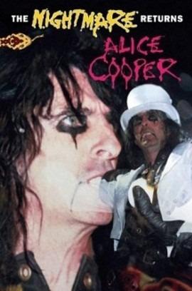 dvd - alice cooper - the nightmare returns - envios x oca.-