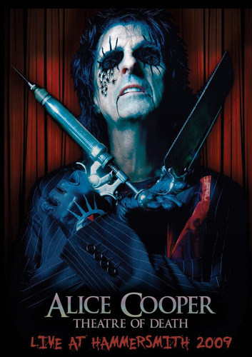 dvd alice cooper: theatre of death - live at hammersmith 200
