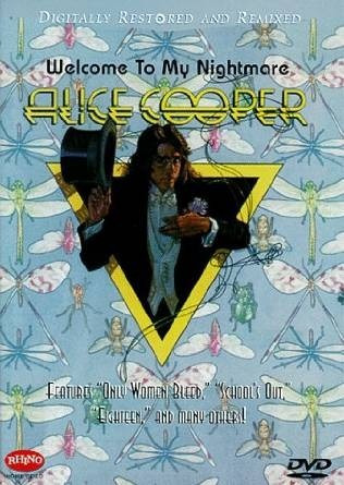 dvd alice cooper: welcome to my nightmare
