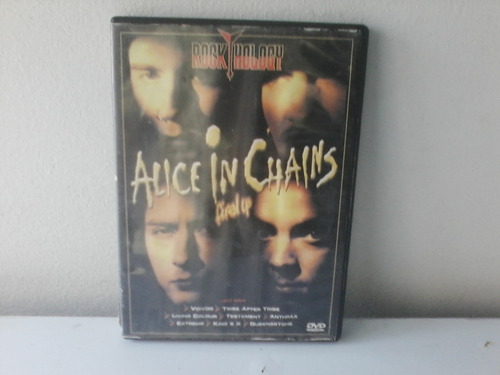 dvd alice in chains fired up - envio 10,00$ ótimo est