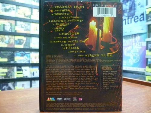 dvd alice in chains  unplugged - nirvana pearl jam top music