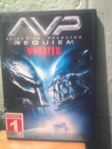 dvd alien vs depredador 2 terror ficción región 1 importado