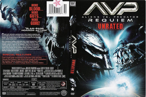 dvd alien vs depredador vs predator et ovni extraterrestres