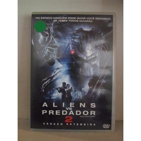 Dvd Alien Vs. Predador 2 - Original - Seminovo