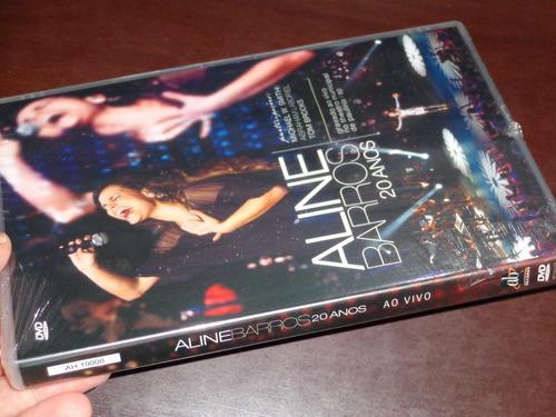 dvd aline barros 20 anos lacrado !!!