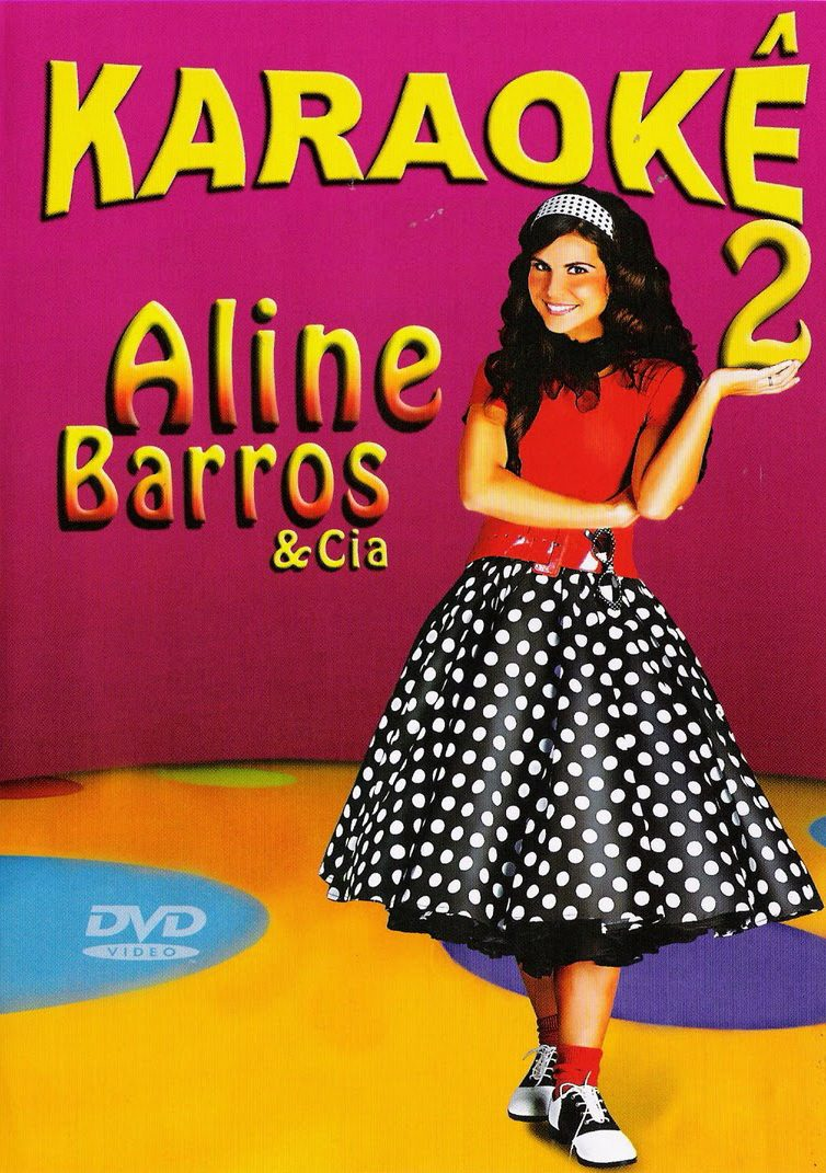 Aline Barros Aline Barros & Cia 2 dvd aline barros & cia 2 karaokê lacrado original em estoque