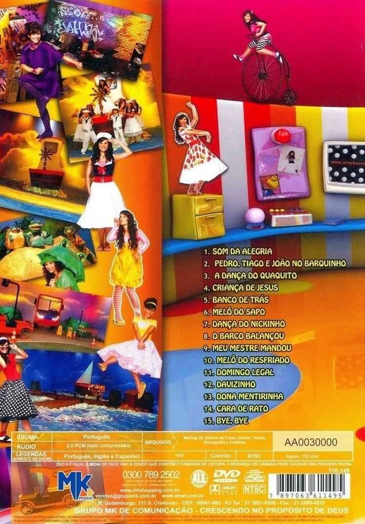 Aline Barros Aline Barros & Cia 2 dvd aline barros & cia 2 - novo e lacrado
