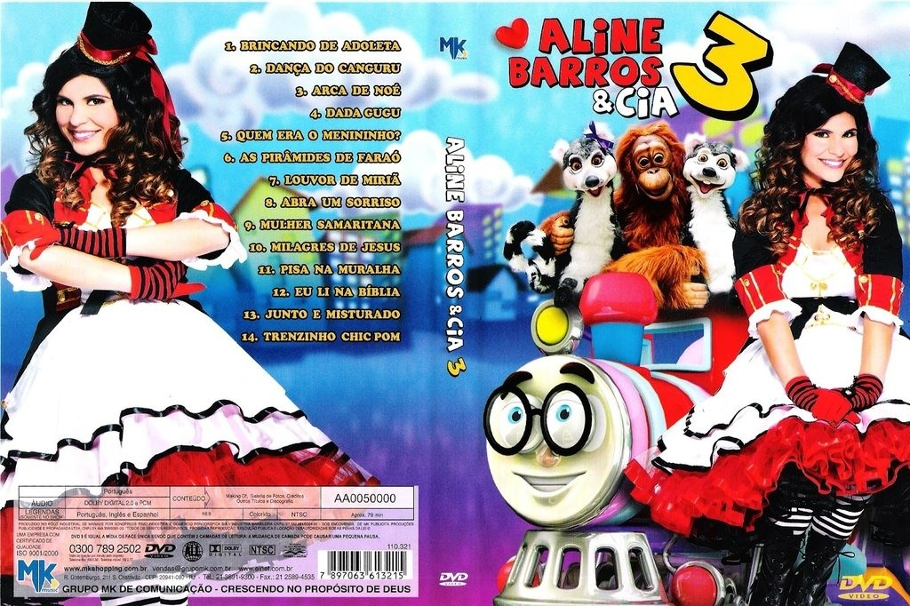 dvd da aline barros e cia 3 gratis