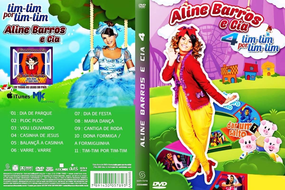 Aline Barros Aline Barros & Cia 2 dvd aline barros e cia volume 4 - tim-tim por tim-tim