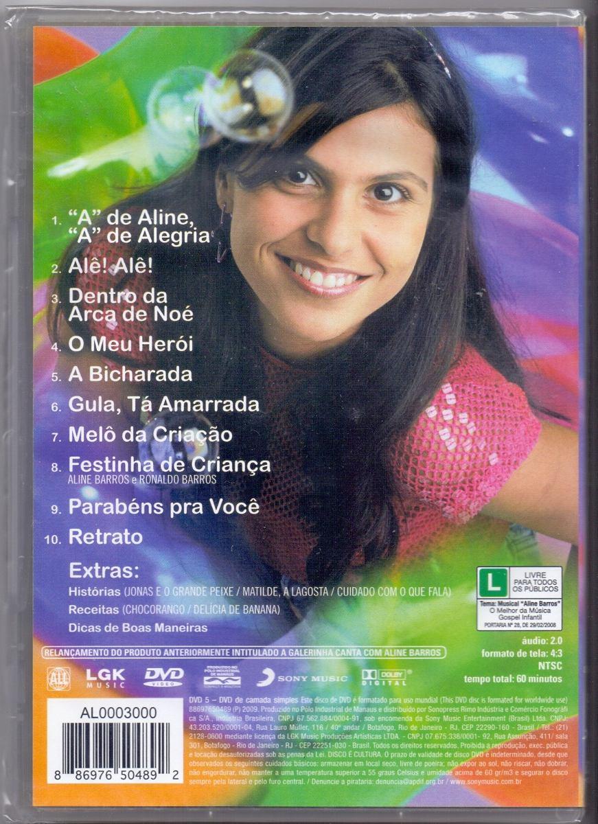 dvd infantil gospel gratis aline barros