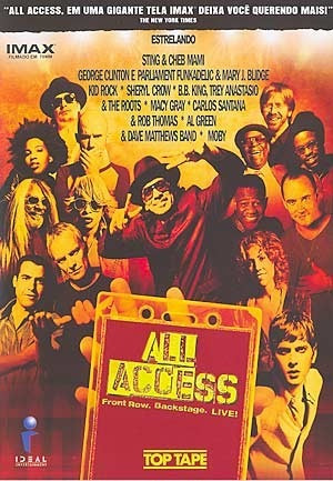 dvd all access - front row, backstage. live