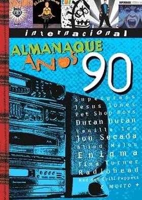 dvd almanaque anos 90 - internacional