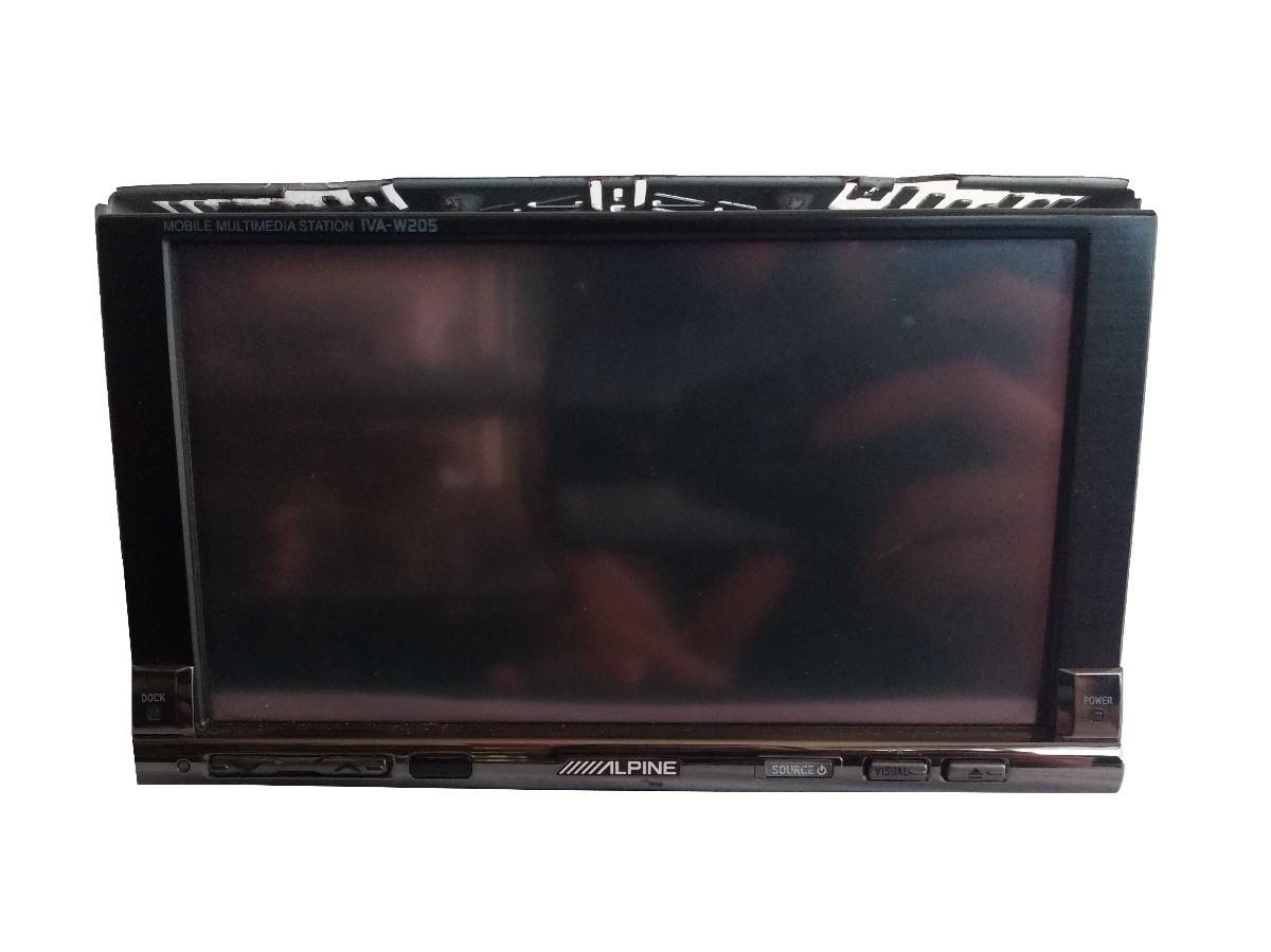 Dvd Alpine Iva W205 Com Bluetooth E Sem Controle R 130000 Em Wiring Carregando Zoom
