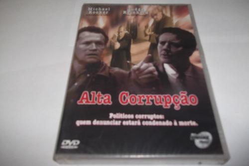 dvd - alta corrupção - 2000 - dublado - lacrado - raro