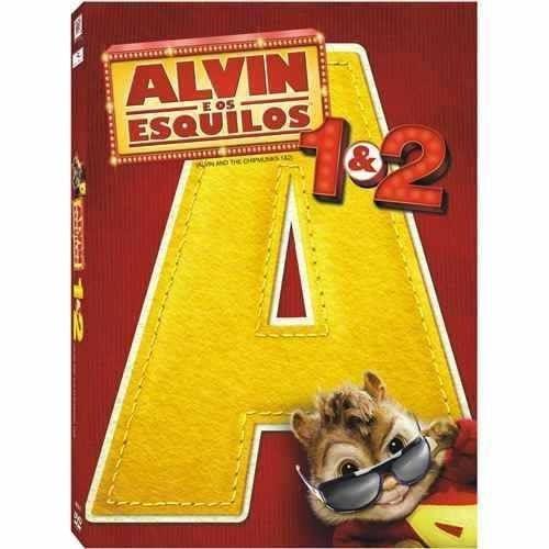 dvd alvin e os esquilos (1 e 2)