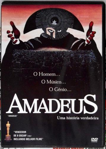 dvd amadeus - milos forman - impecável