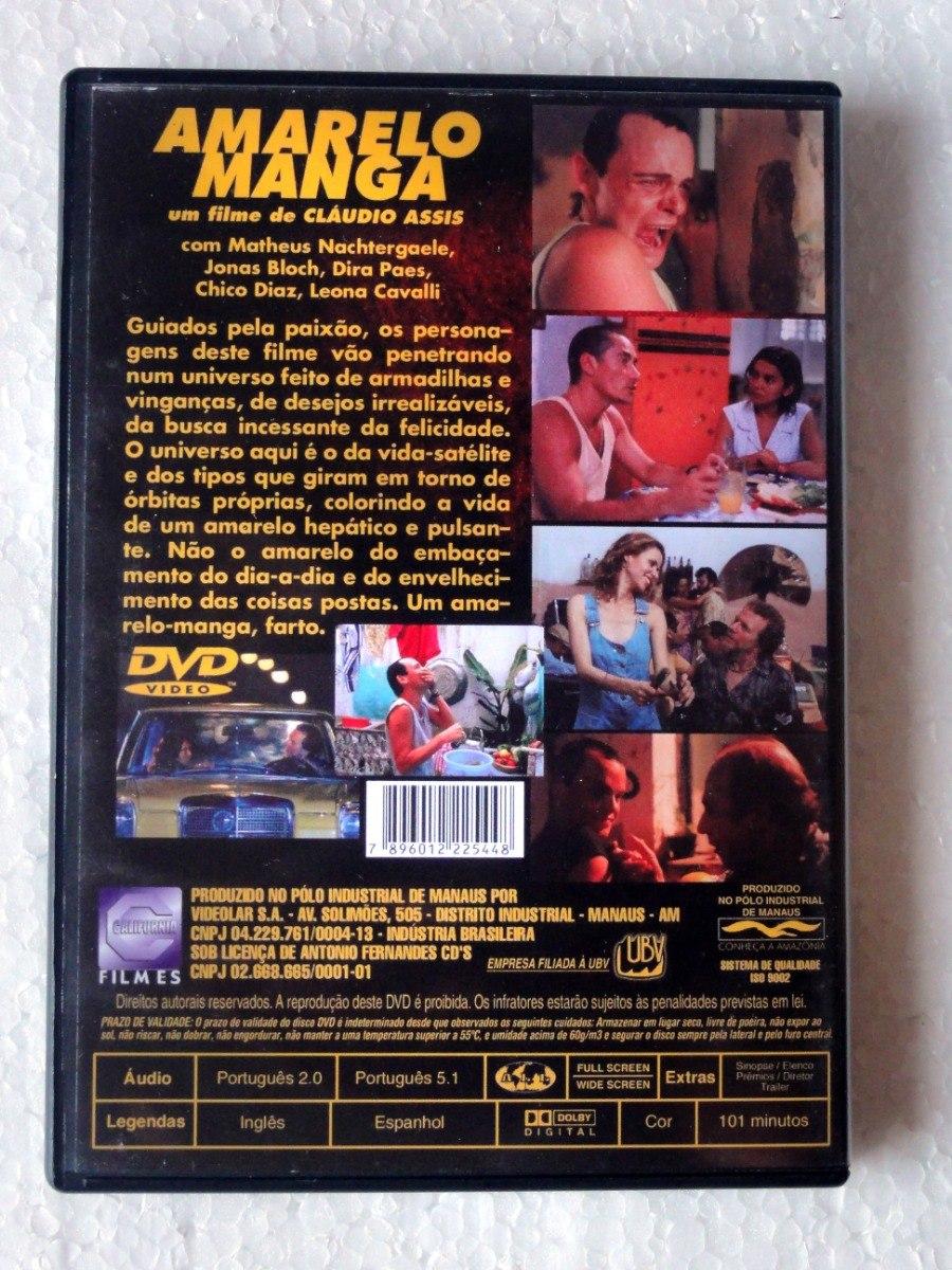 Amarelo Manga 2002 dvd amarelo manga (2002) original seminovo