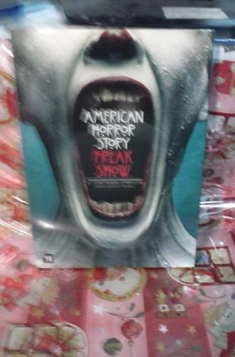 dvd american horror story 4ª temporada 4 discos