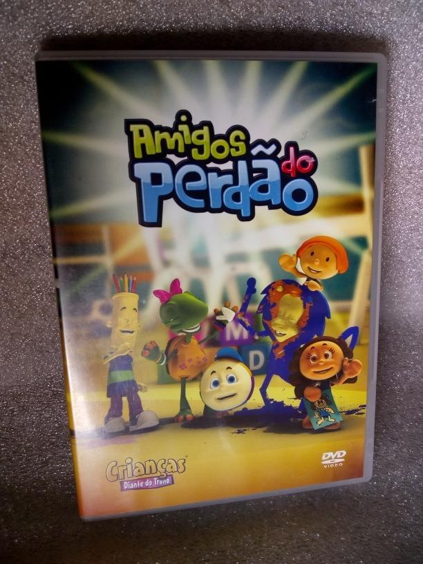 dvd diante do trono infantil amigos do perdo