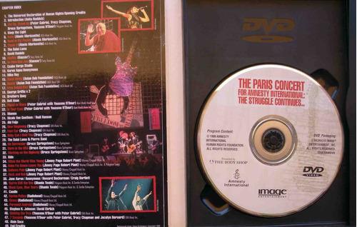 dvd amnesty paris concert page & plant radiohead - imp usa